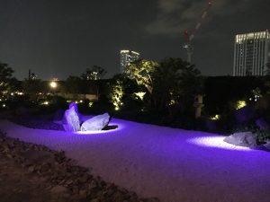 セントレジス日本庭園