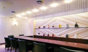 銀座の高級クラブ、クラブJの店内画像
