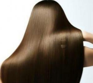 髪のツヤがきれいのイメージ