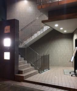恵比寿会員制ラウンジバレラの正面入口
