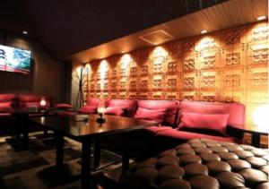 六本木ラウンジ、ミリオンの店内画像