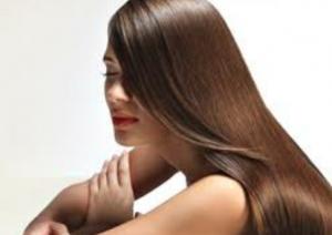 美しい髪のイメージ画像