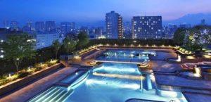 ホテルイースト21東京のナイトプール