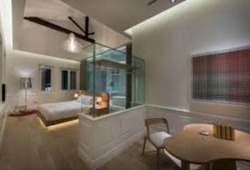 マカリスターマンションの客室