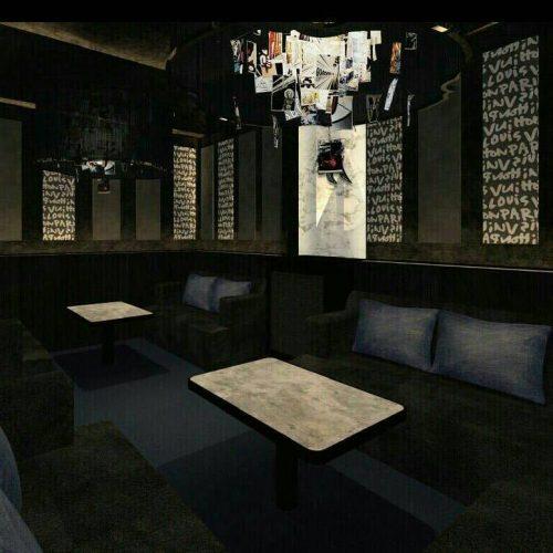 西麻布の会員制ラウンジ、ゼロ(zero)の店内画像3