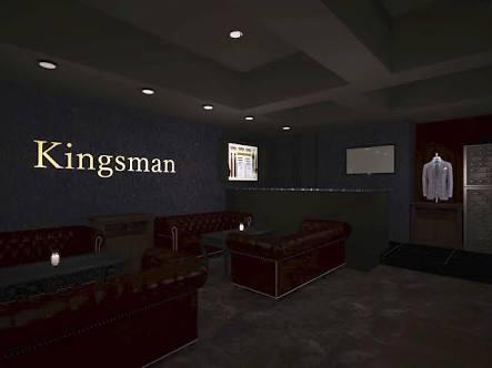六本木の会員制ラウンジ、キングスマンの店内画像