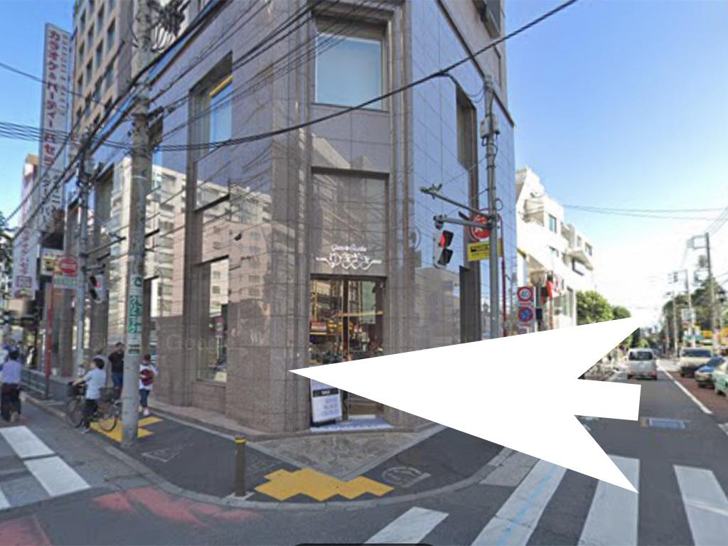 六本木ゆきざきビルの入口