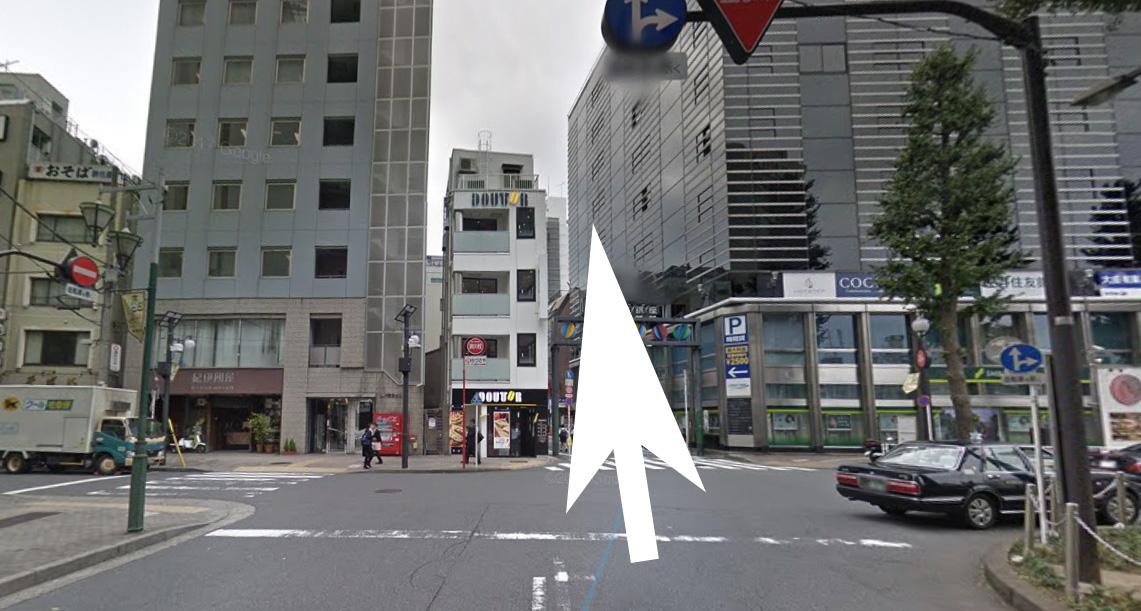 恵比寿ビアジョへの道