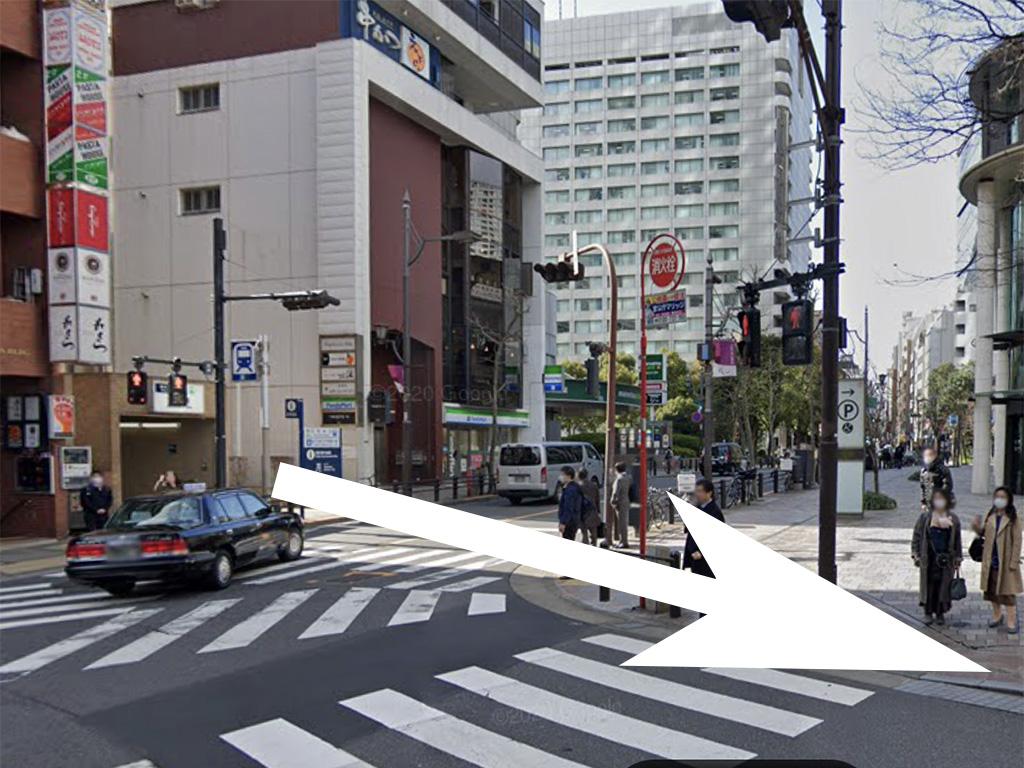 赤坂ベレタへの道
