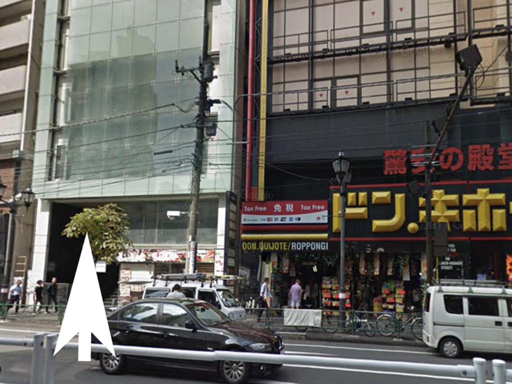 六本木美人茶屋への道